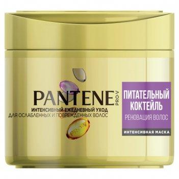 Маска для волос pantene питательный коктейль, 300 мл