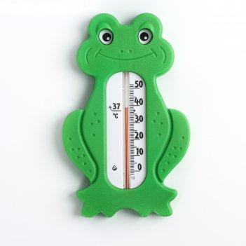 Термометр водный лягушонок, цвет и рисунок микс