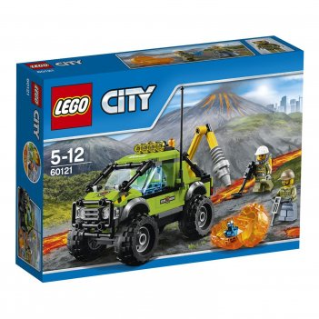Lego city. грузовик исследователей вулканов - конструктор lego