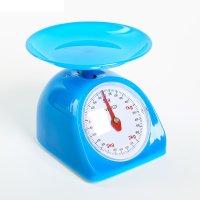 Весы кухонные механические energy en-405мк, синий, до 5 кг