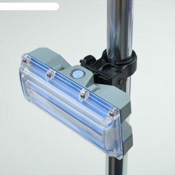 Фонарь велосипедный аккумуляторный 20 вт, 1200 мач, usb, 4 режима