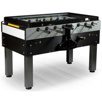 Настольный футбол (кикер) «pro sport» (144x76x90см, черный, жетоноприемник