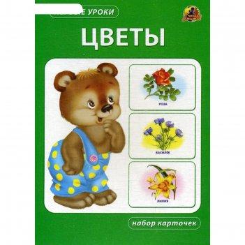 Цветы. набор карточек