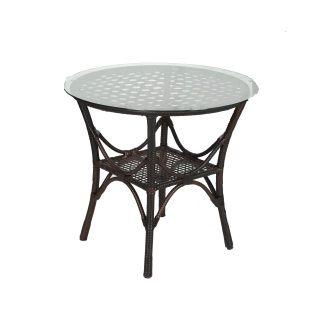 Стол из комплекта мебели рандеву b174w (кофе)