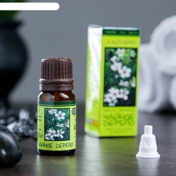 Эфирное масло чайного дерева в индивидуальной упаковке, 10 мл
