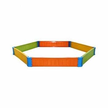 Ограждение для игры с песком шестиугольное арт. 4988м