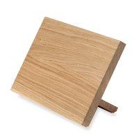 Подставка настольная из дерева с магнитными элементами для ножей, серия kn