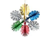 Декоративное изделие подвес звезда 40 см