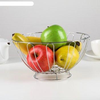 Ваза для фруктов, 22*10 см
