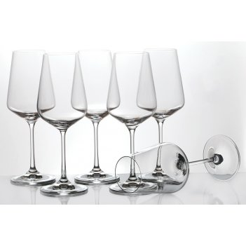 Набор бокалов для вина  из 6 шт.сандра 350 мл.