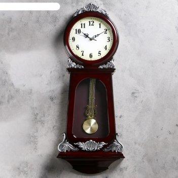 Часы настенные с маятником мюриэль, 31х75 см, микс