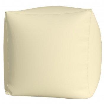 Пуфик куб макси, ткань нейлон, цвет белый