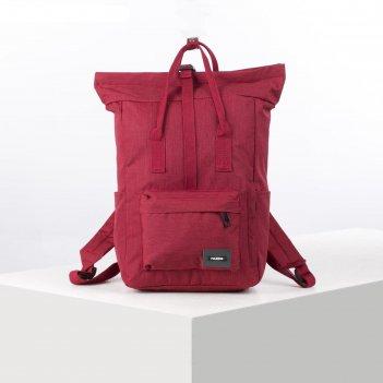 Рюкзак молодёжный, отдел на молнии, наружный карман, 2 боковых кармана, цв