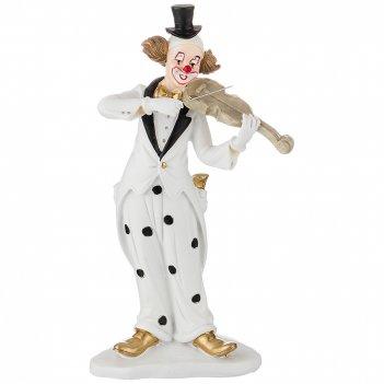Фигурка клоун 13*7,5*23,5 см. коллекция буффонада (кор=12шт.)