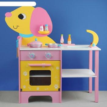 Игровой набор кухня-собачка