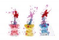 Настольный набор детский мишка из 5 предметов: подставка, ножницы, линейка