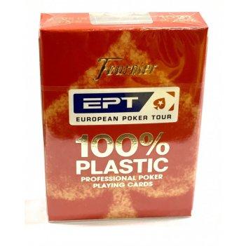 """Карты для покера """"fournier ept"""" 100% пластик, испания"""