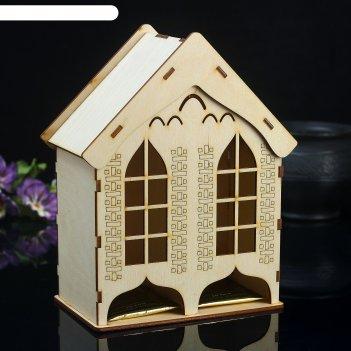 Чайный домик изба
