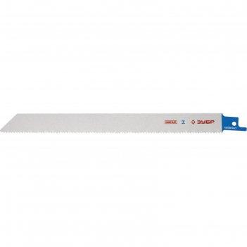Полотно зубр эксперт s1122vf к саб эл.ножов, bi-met, универсальное, 210 мм