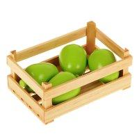 Игровой набор ящик с яблоками
