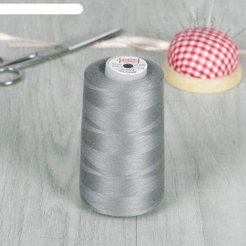 Нитки 50/2, 5000 м, № 140, цвет серый