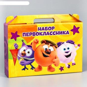 Портфель выпускника детского сада, смешарики