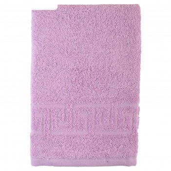 Полотенце, размер 50 x 90 см, цвет сиреневый