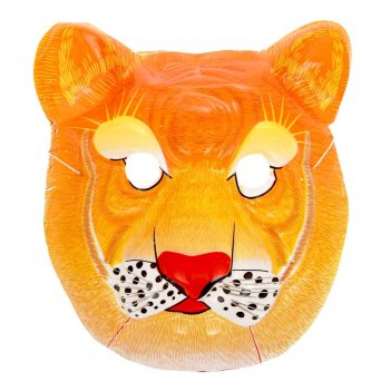 Карнавальная маска тигр на резинке