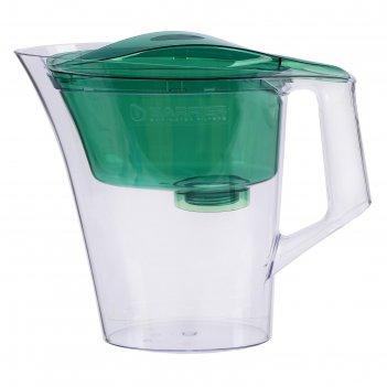 Фильтр-кувшин 2,5 л барьер-нова, цвет зелёный