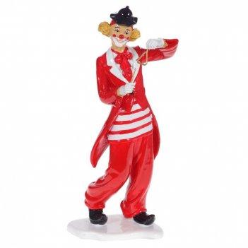 Фигурка декоративная клоун, l17 w12 h35 см