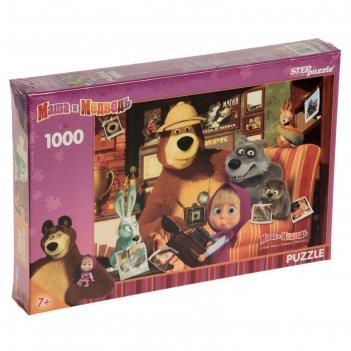 Пазлы маша и медведь, 1000 элементов