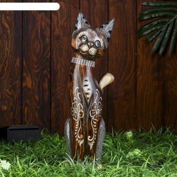 Сувенир дерево кошка  40 см