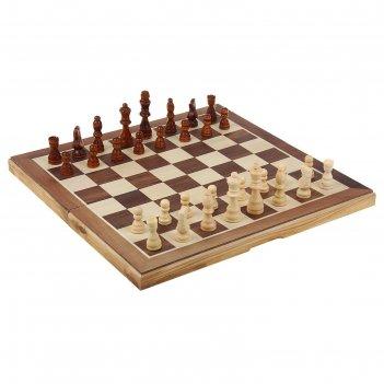 Шахматы подарочные 39х39см