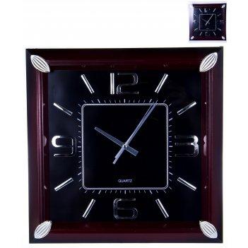 Часы настенные квадратные home art «традиция» 34,8x34,8 см