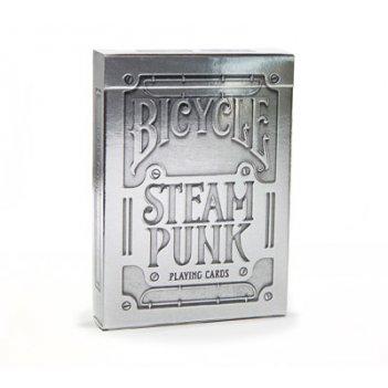 Карты для покера bicycle steampunk silver