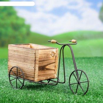 Кашпо велосипед 23*8*12 см