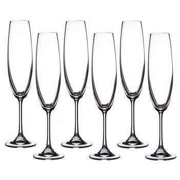 Набор бокалов для шампанского из 6 шт. барбара 2...