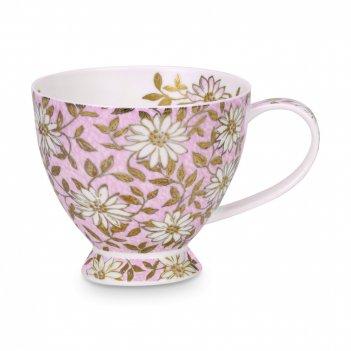 Чашка чайная «нуово скай», объем: 450 мл, материал: костяной фарфор, декор