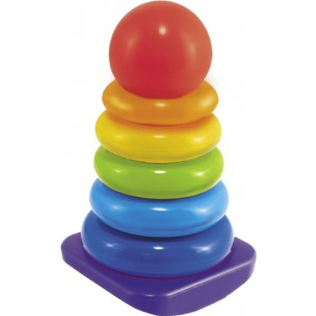 Пирамидка-качалка  шарик 22 см.