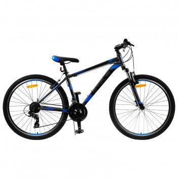 Велосипед 26 stels navigator-500 v, v030, цвет серый/синий, размер 18