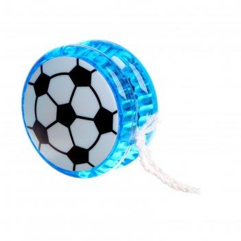 Йо-йо футбол световой, цвета микс