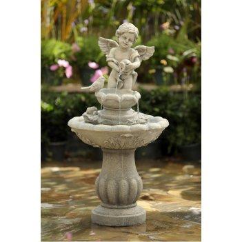 Декоративный фонтан для дачи  ангел