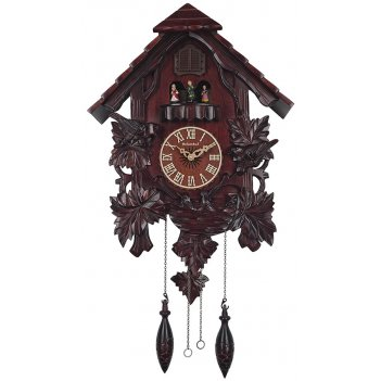 Настенные часы с кукушкой columbus сq-039 куклы