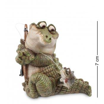 Cd-7115-sc фигура мал. крокодил отпусти, а ?! (sealmark)