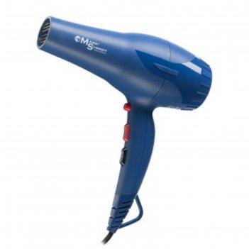 Фен для волос mark shmidt ms8862 dark blue, 2200 вт, 2 скорости, 2 насадки