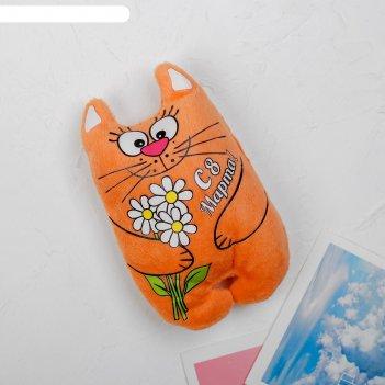 Мягкая игрушка-магнит 8 марта!, котик
