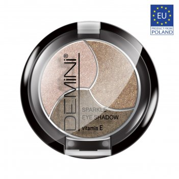 Тени для век demini sparkle eye shadow с витамином е, тон 307