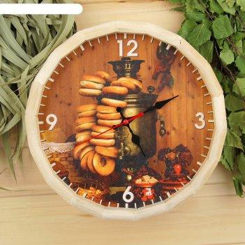 Часы банные бочонок угощения