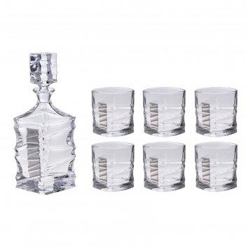 Набор для виски джим спот(графин, 6 бокалов 250 мл.)