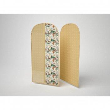 Чехол для одежды большой «флёр», 60х130 см
